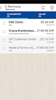 Screenshot of eBanking Mobile