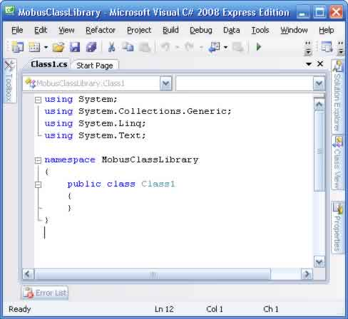 Creating Dynamic Library for Modbus Serial in C# – Rifqi-On Com