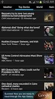 Screenshot of News & Weather