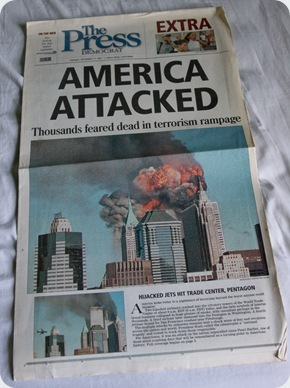 Newspaper About 9/11