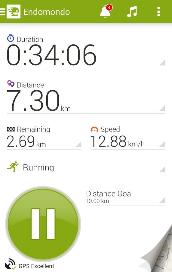 Endomondo Sports Tracker - screenshot