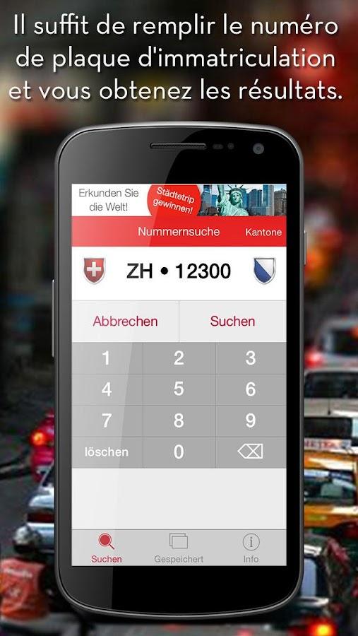 autoindex plaques suisse applications android sur google. Black Bedroom Furniture Sets. Home Design Ideas