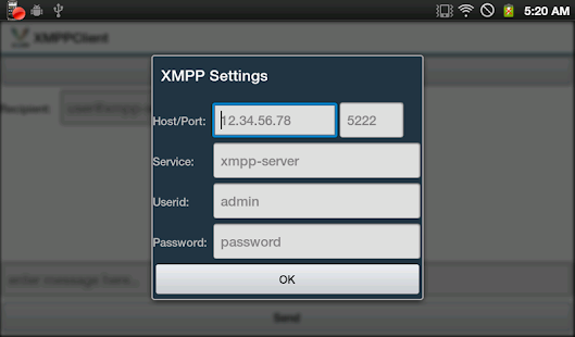 XMPP Client- screenshot thumbnail