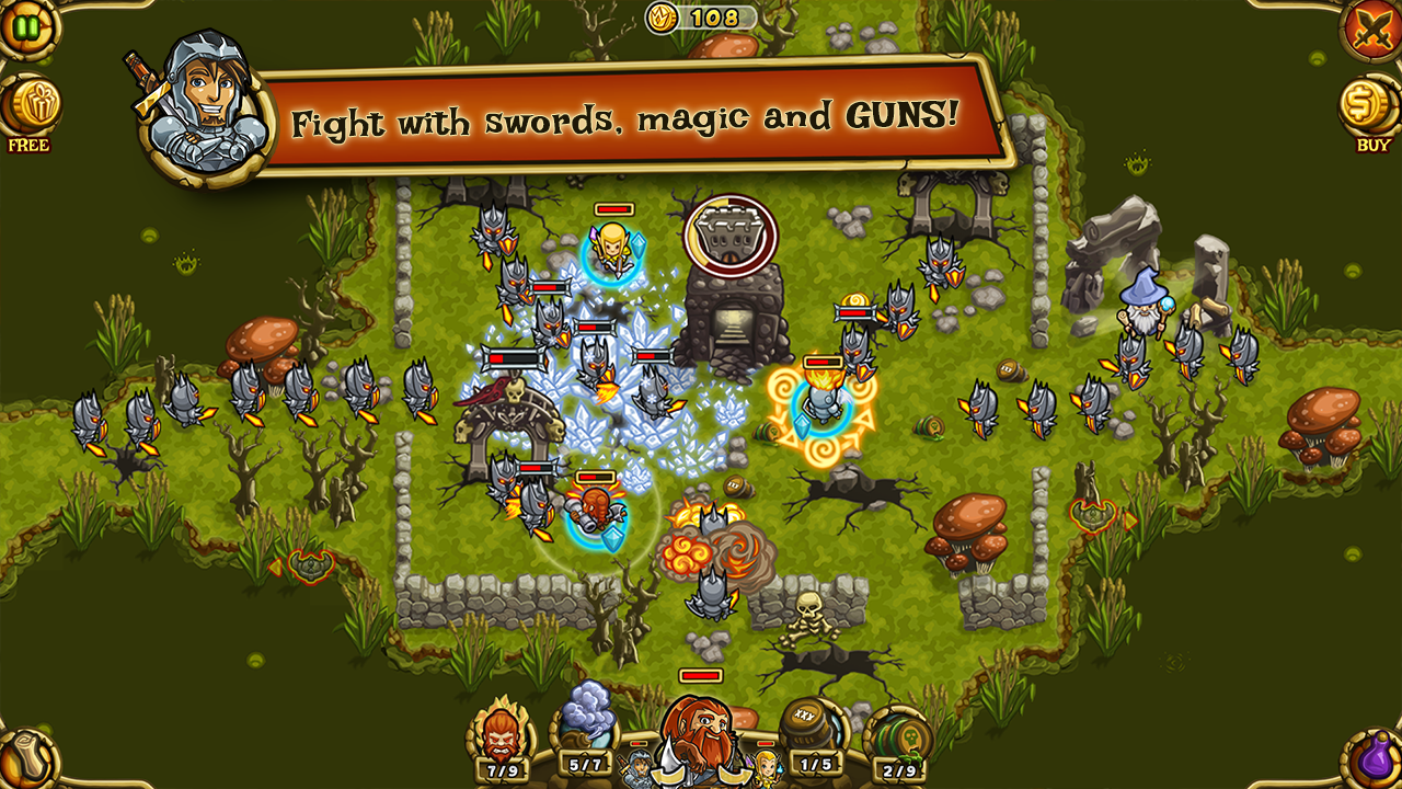 Guns'n'Glory Heroes Premium- screenshot