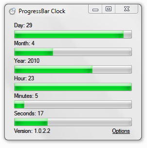 progressbar-clock