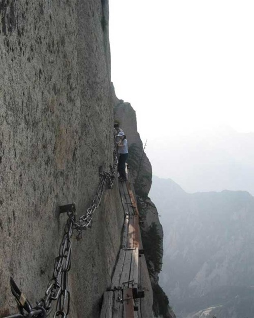 huashan mountain road (6)
