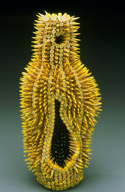 pencil-sculptures