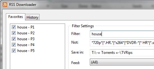 utorrent-rss-downloader