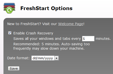 freshstart-options