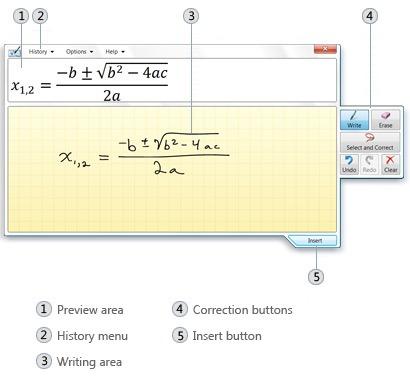 math-input-panel