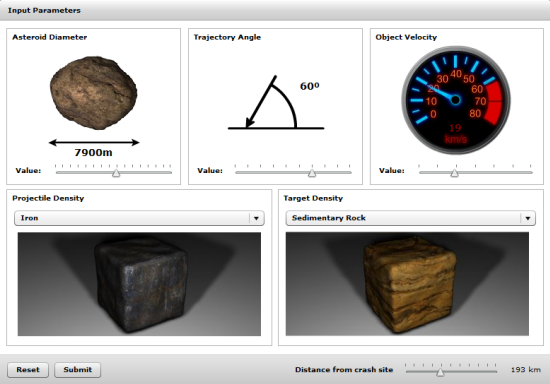 4 Asteroid Impact Calculators or Earth Collision Simulators