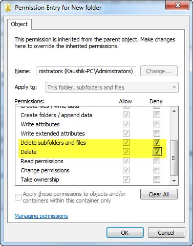 permission-folder