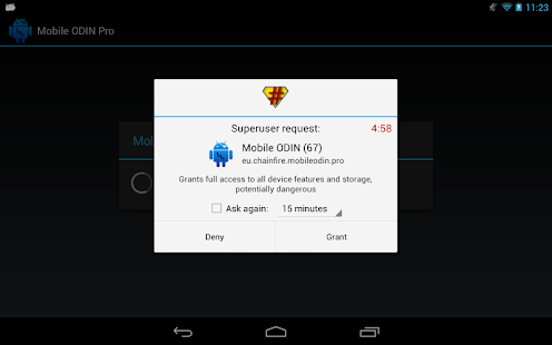 SuperSU- miniatura screenshot
