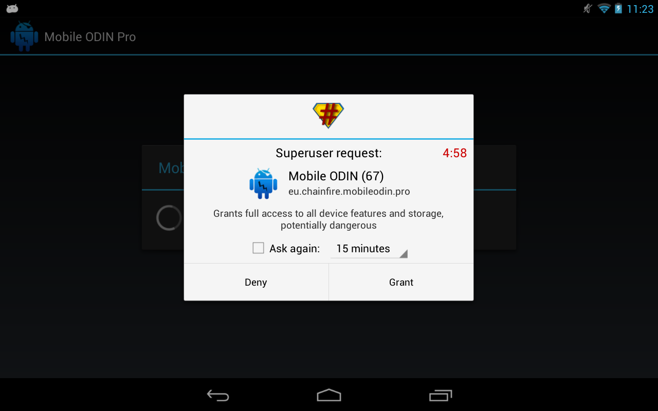 SuperSU - screenshot