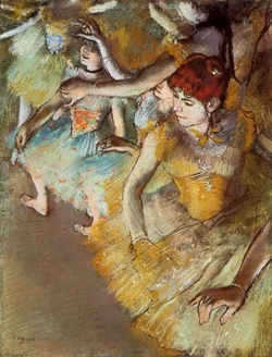 Degas - Ballet Dancers on the Stage