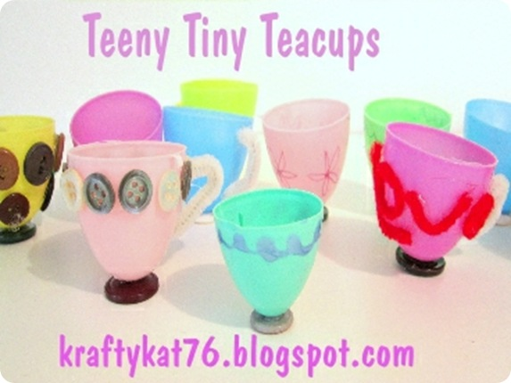 teeny tiny teacups