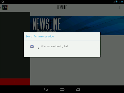 NewsLine (RSS News Reader) - screenshot thumbnail