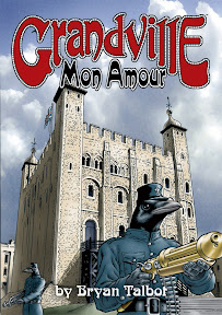 The Dark Horse edition of Grandville Mon Amour