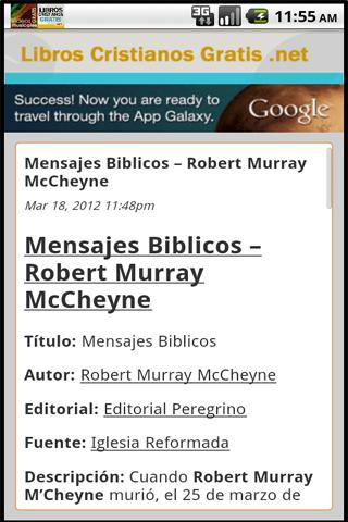 Libros Cristianos Gratis - screenshot