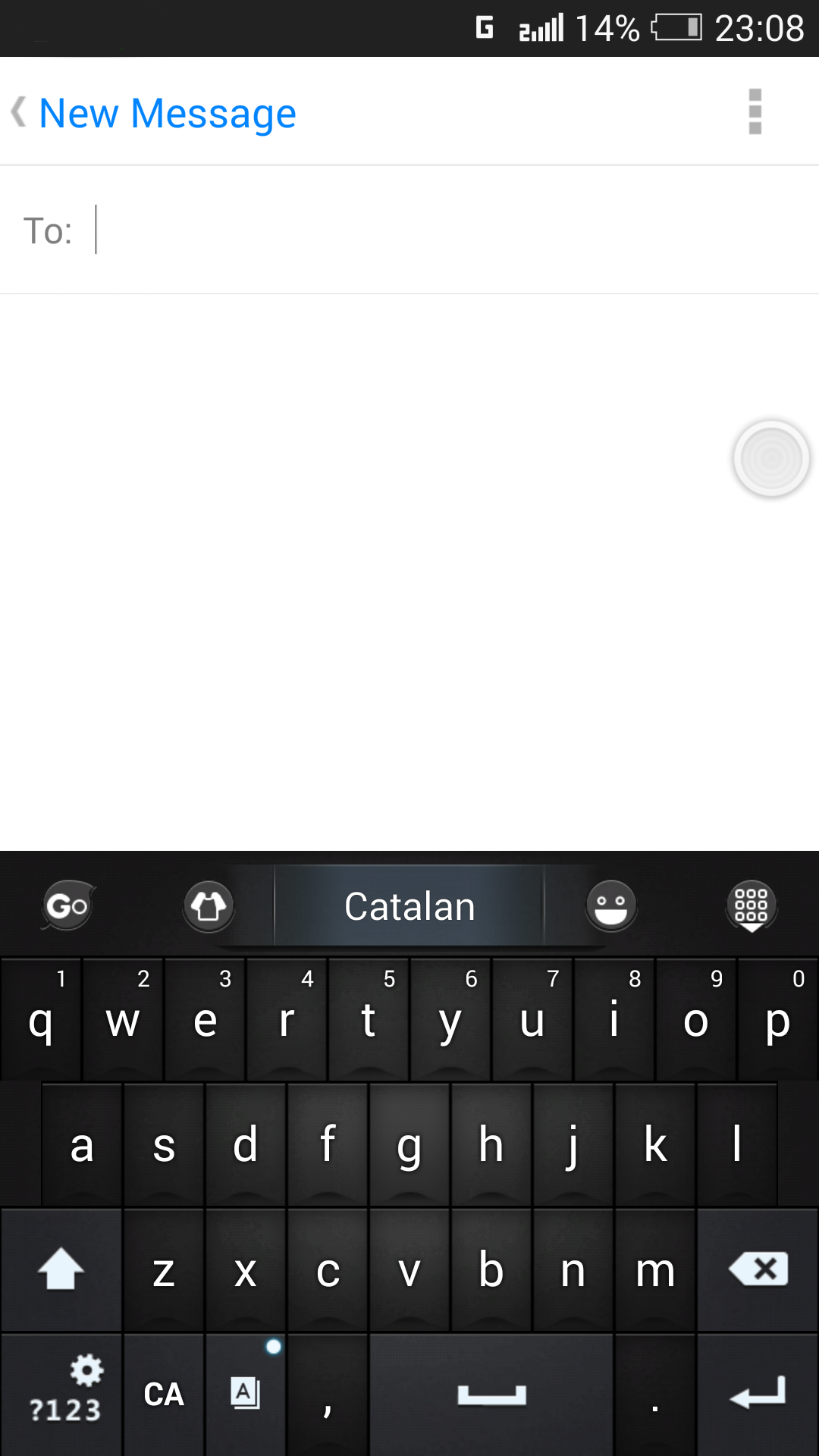 Catalan for GO Keyboard- Emoji screenshot #4