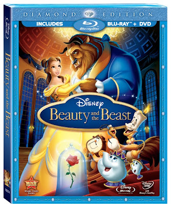 Film Intuition Review Database Blu Ray Review Beauty And The Beast 1991 Walt Disney Diamond Edition