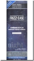 John Frieda Frizz-Ease Creme Serum Overnight Repair Formula