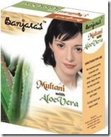 multani with aloevera facepack from Banjara