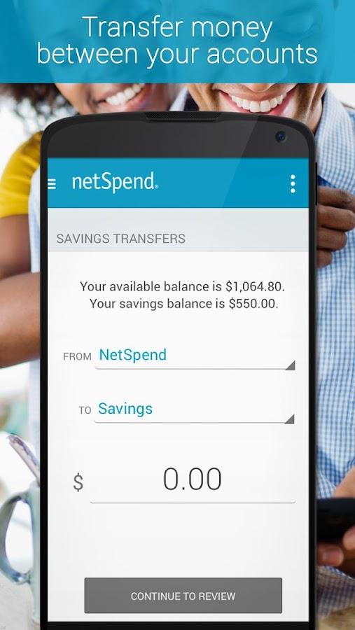 NetSpend Mobile - screenshot