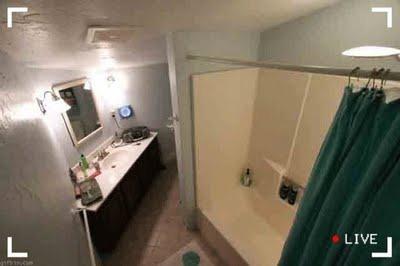 Câmera escondida em motel