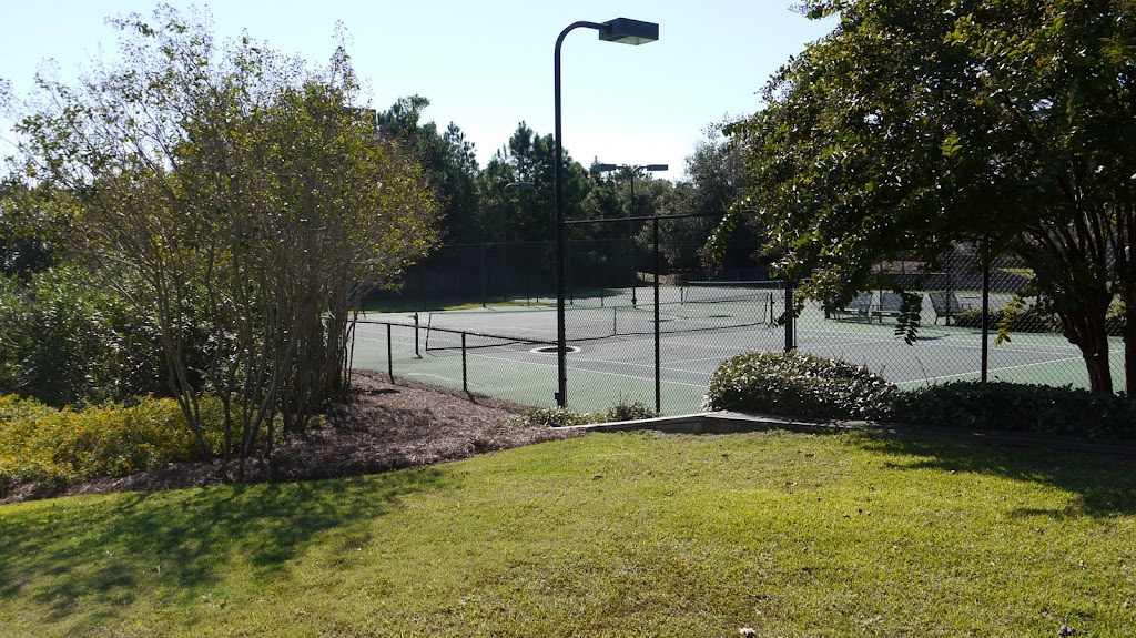 Tennis Courts - Emerald Landing a gated Soundfront Commumnity in Emerald Isle North Carolina