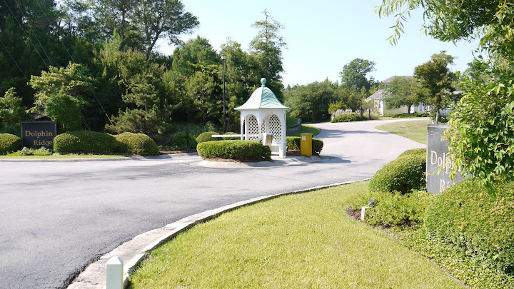 entrance gazebo - Dolphin Ridge - Emerald Isle North Carolina