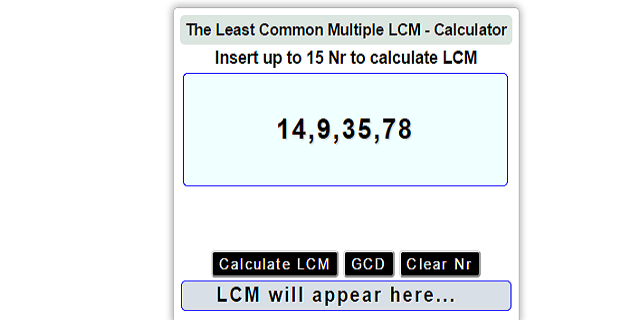 Download lcm calculator free online apk latest version app for.