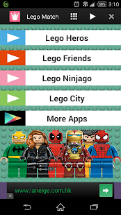 Lego City Toy Match for Kids