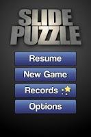 Screenshot of Simple Slide Puzzle