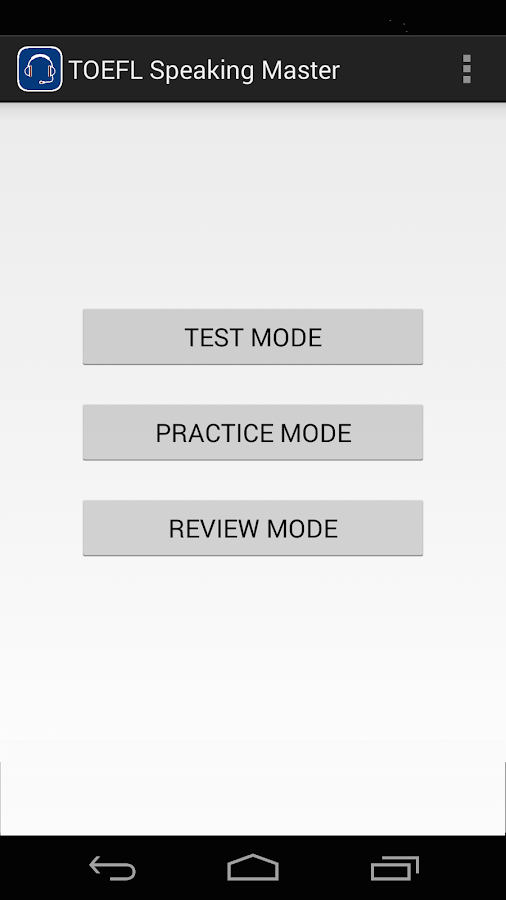 Smtt toefl speaking android apps on google play smtt toefl speaking screenshot pronofoot35fo Image collections