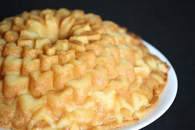 close-up photo of a coconut mochi cake