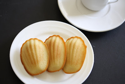 photo of Madeleines on a plate