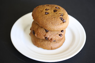 photo of a stack of cookies on a plate
