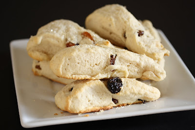 photo of a plate of scones