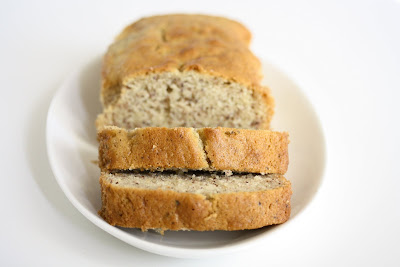 photo of sliced Hazelnut Loaf Cake