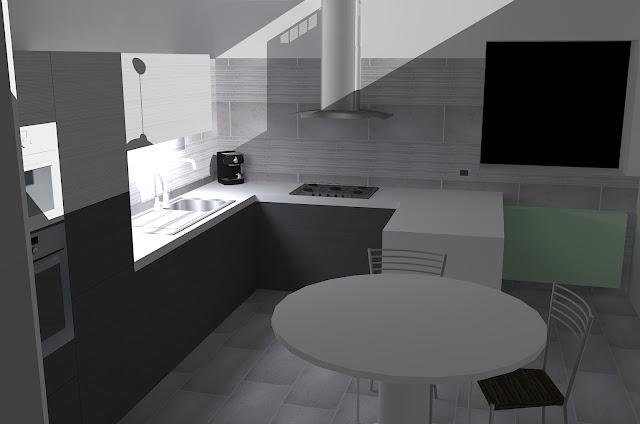 Forum help rivestimento cucina zona - Altezza cappa cucina ...