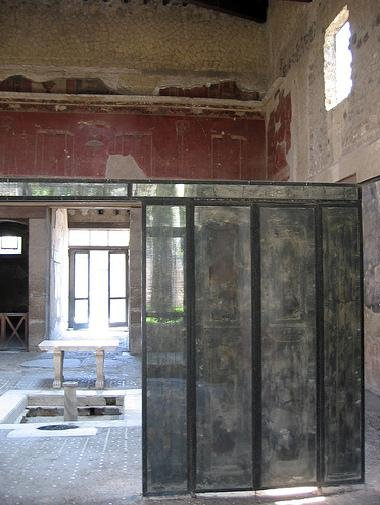 Marvelous During The Renovation Work Carried Out In The Early First Century The  Tablinum Appears To Have Been Shortened, Enabling The Erection Of A Portico  On The ...