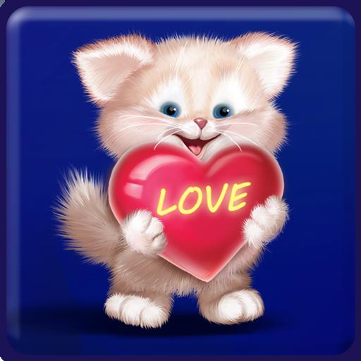 Cute Cat Live Wallpaper 個人化 App LOGO-APP試玩