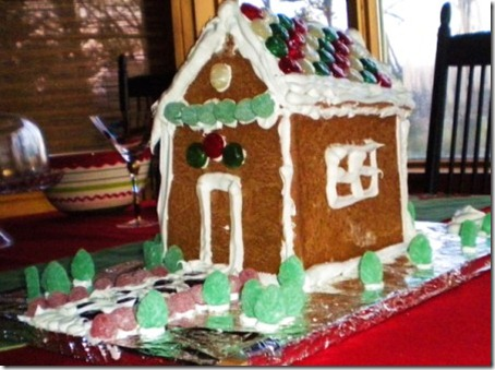 Gina's Gingerbread House