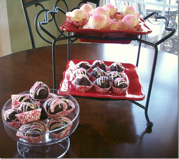 Strawberry Cake Truffles 040