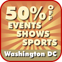 50% Off Washington D.C. Events logo