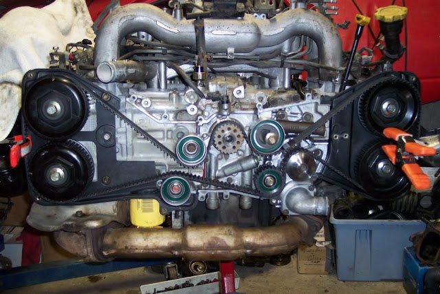 Another DOHC EJ25 Head install on EJ22T block-Misfire-FIXED
