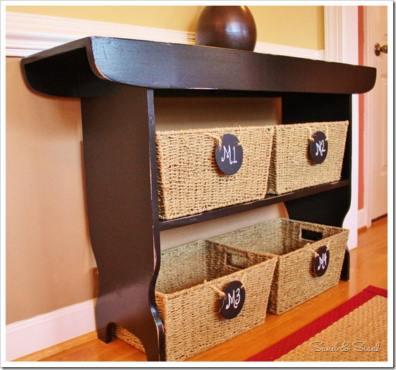 sidetable baskets