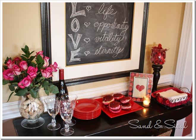 Valentine tablescape 2