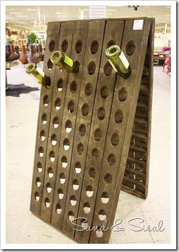 wine rack reproduction